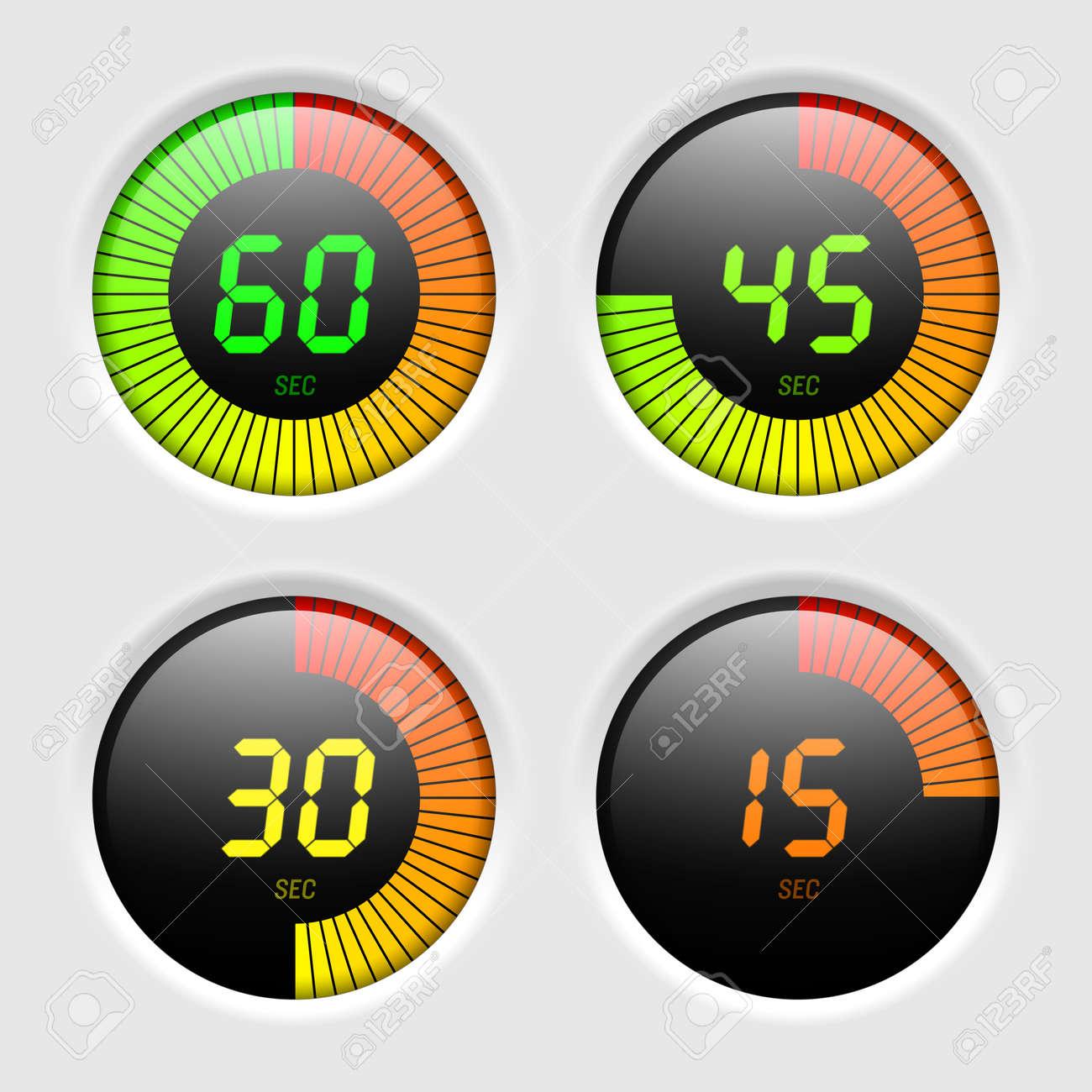 Digital timer Stock Vector - 14843577