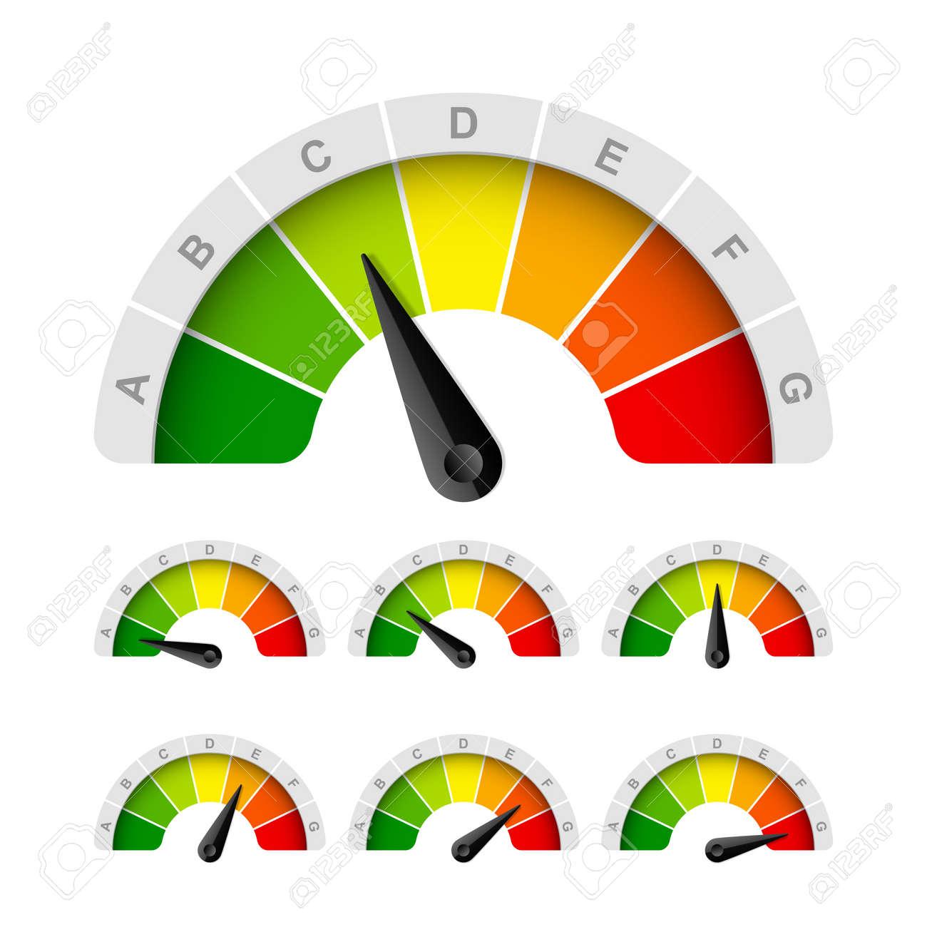 Energy efficiency rating Stock Vector - 15753365