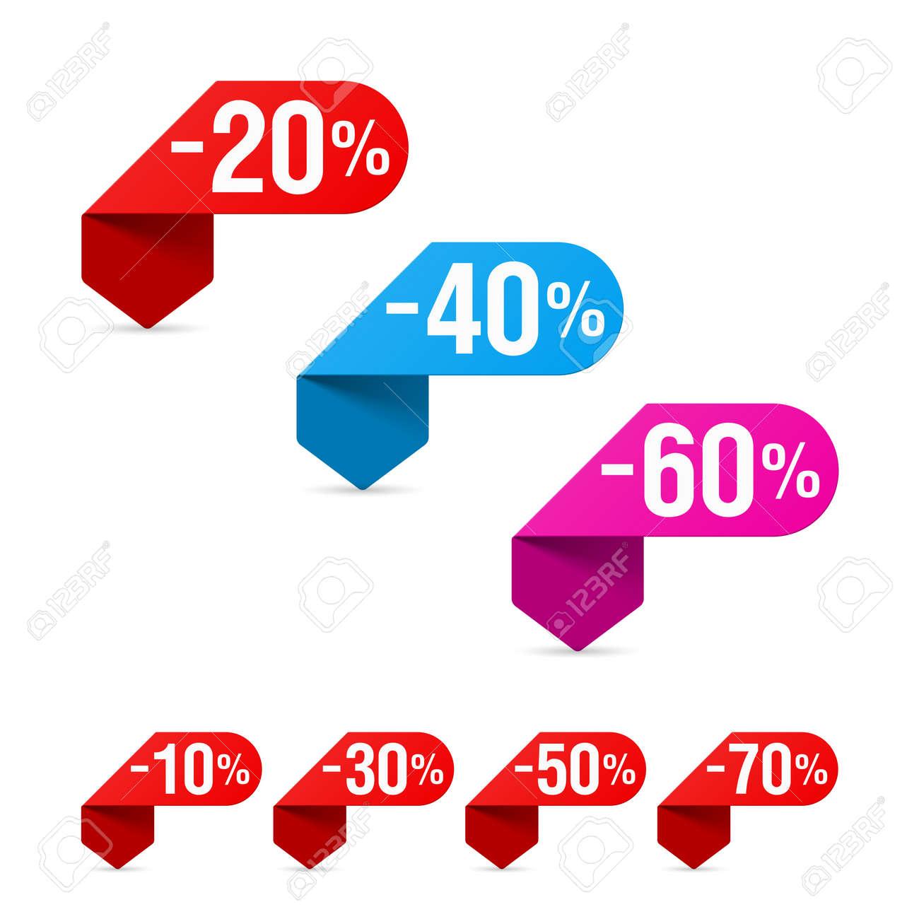 Discount signs Stock Vector - 16006779