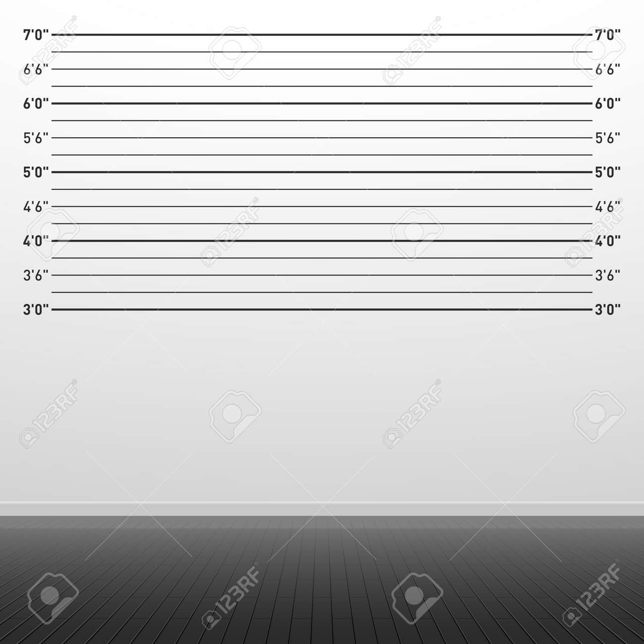 Police lineup background Stock Vector - 17902010