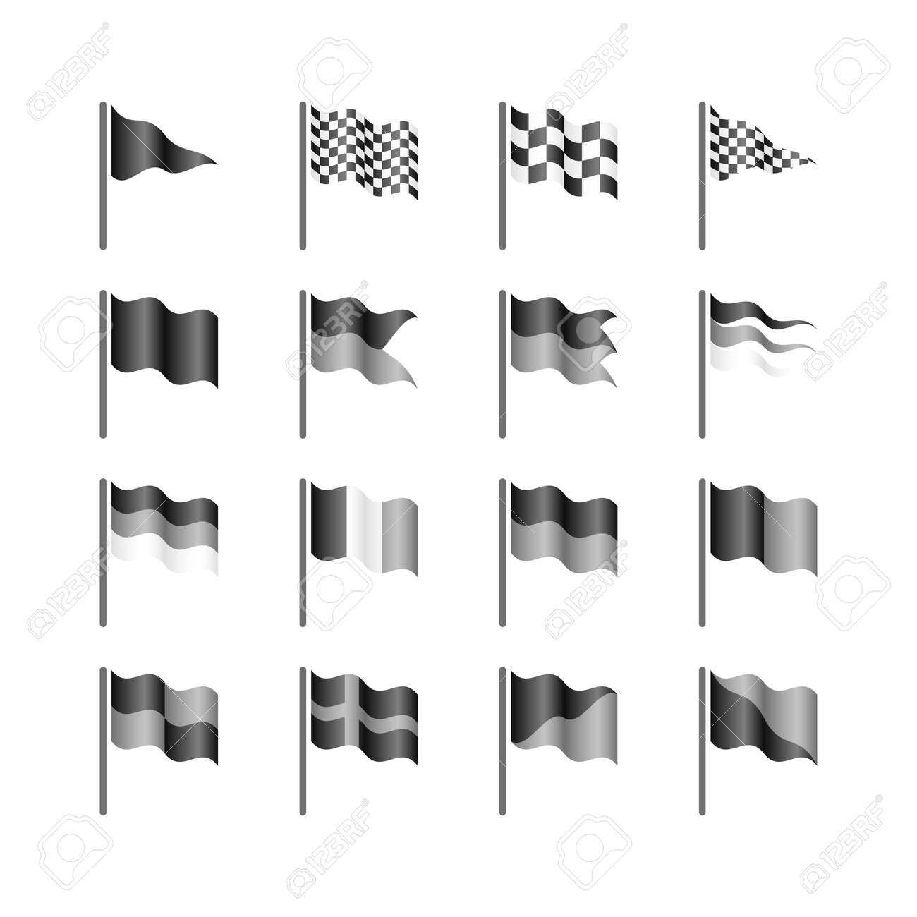 21 386 flagpole cliparts stock vector and royalty free flagpole