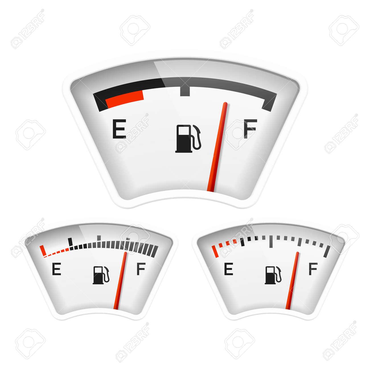 Fuel gauge Stock Vector - 22397150