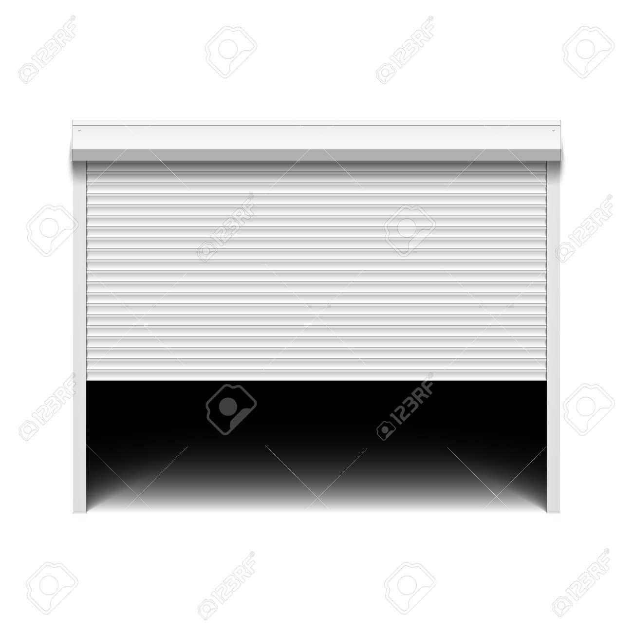 roller shutter garage door royalty free cliparts vectors and stock rh 123rf com garage door images clip art garage door clipart