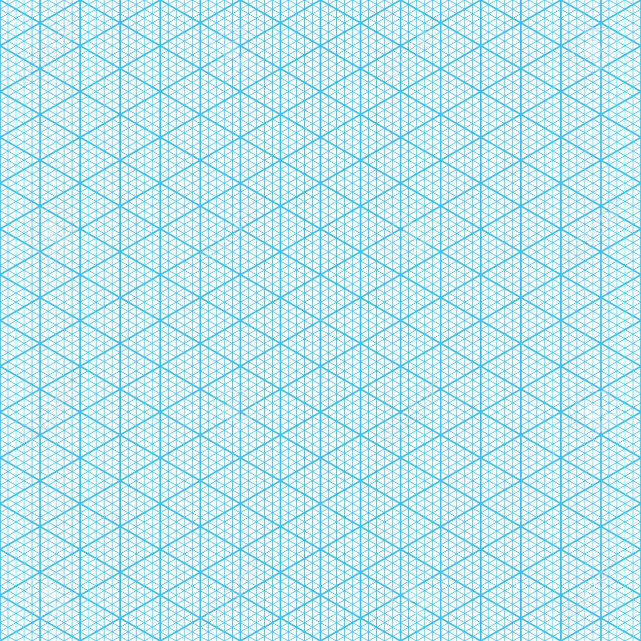 Isometric Graph Paper Seamless Illustration Royalty Free Cliparts – Isometric Graph Paper
