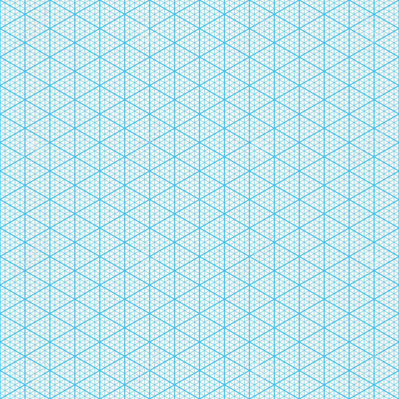 Isometric Graph Paper Seamless Illustration Stock Vector   28459837