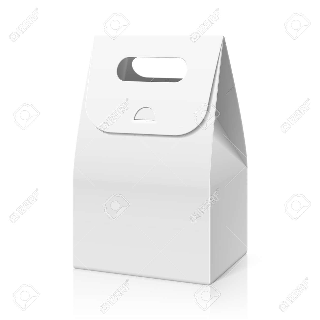 BlancPain Blanc En Gâteau Sac De Papier Emballage Main K3lcT1JF