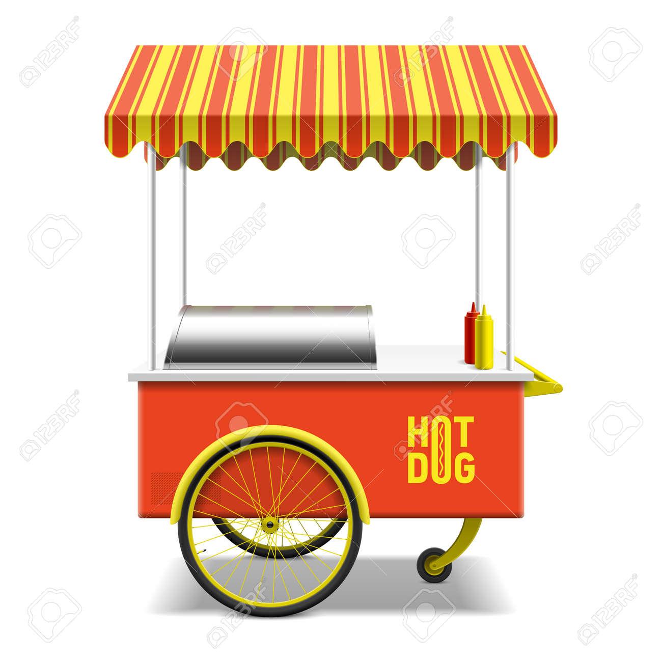 797 hot dog cart stock illustrations cliparts and royalty free hot rh 123rf com  clip art cartoon hot dogs
