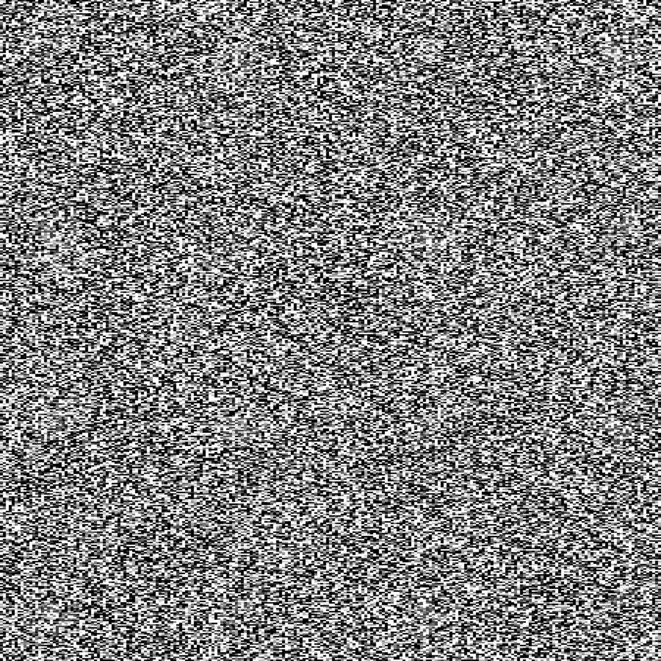 テレビのノイズのシームレスなテ...