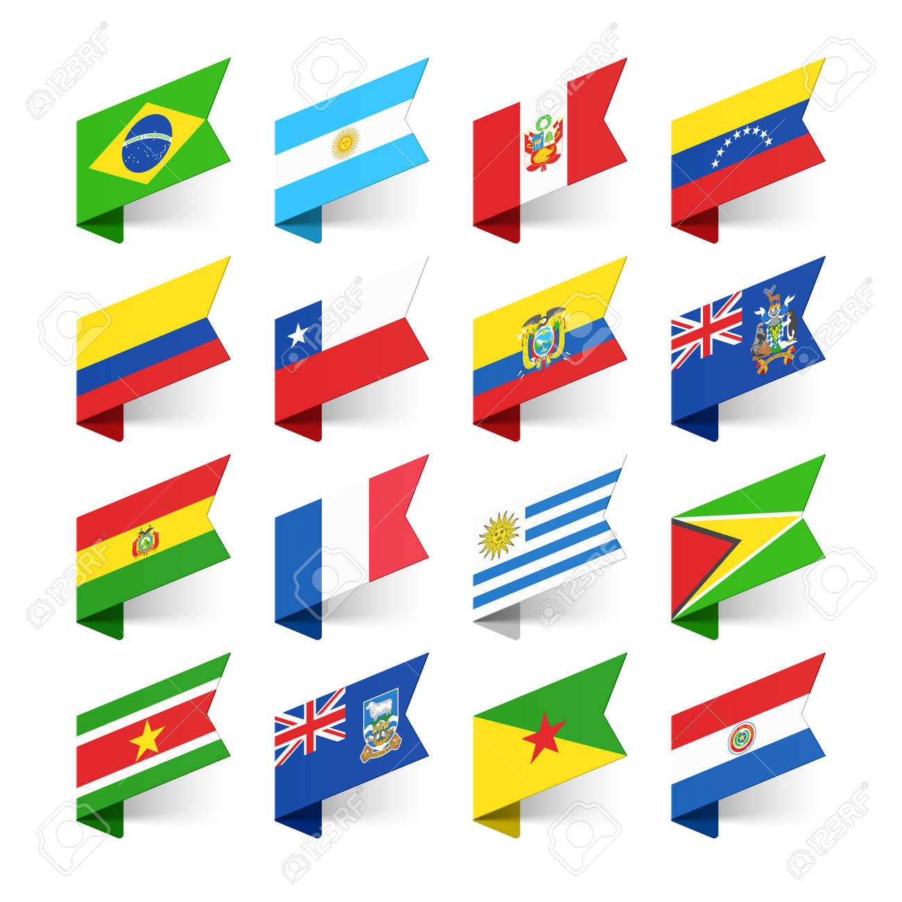 Chile flag stock photos royalty free business images flags of the world south america biocorpaavc Images