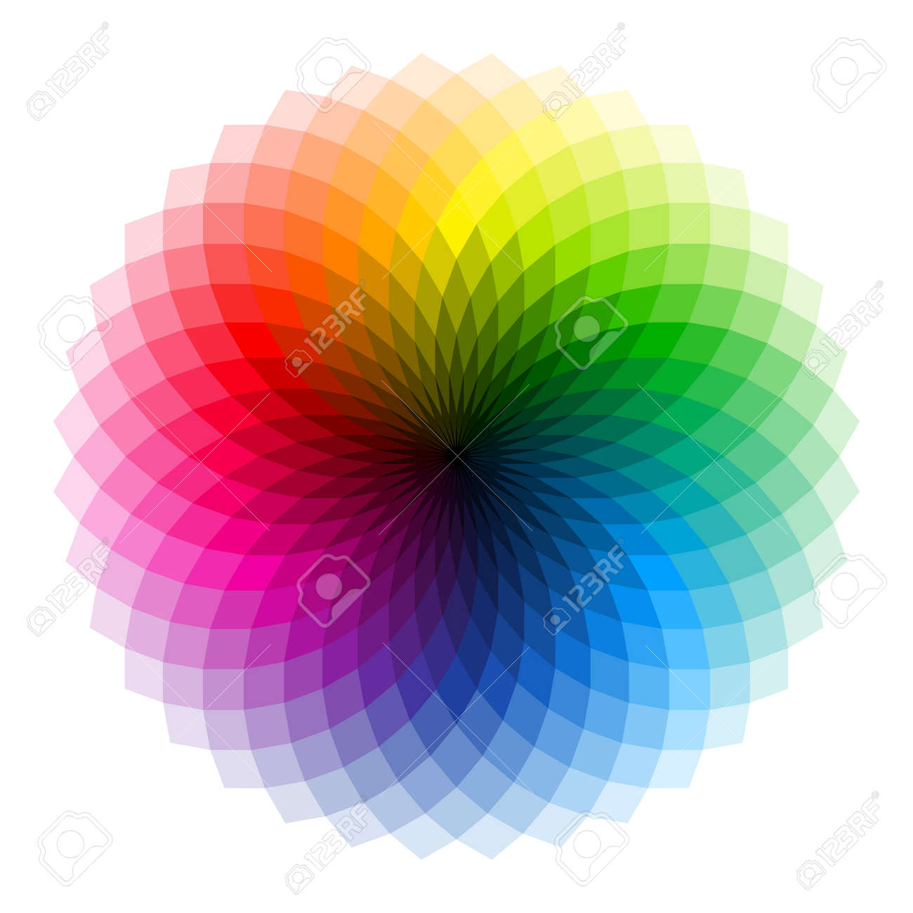 Color wheel - 42791910