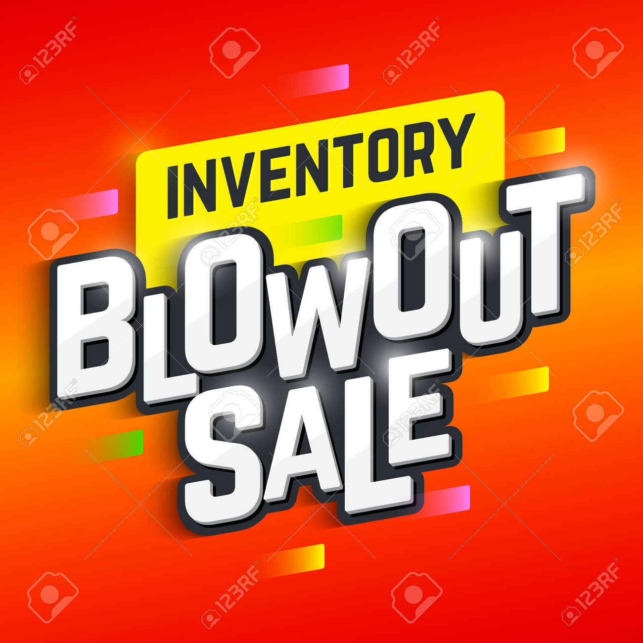c8234342 Inventory Blowout Sale Banner Royalty Free Cliparts, Vectors, And ...