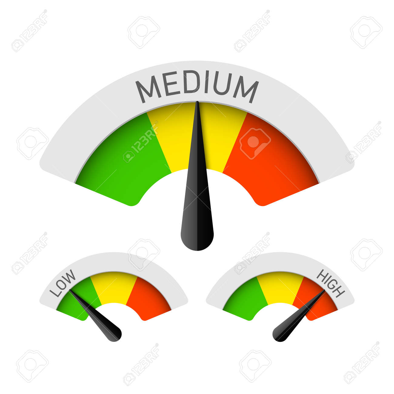 Low, Medium and High gauges - 66991775