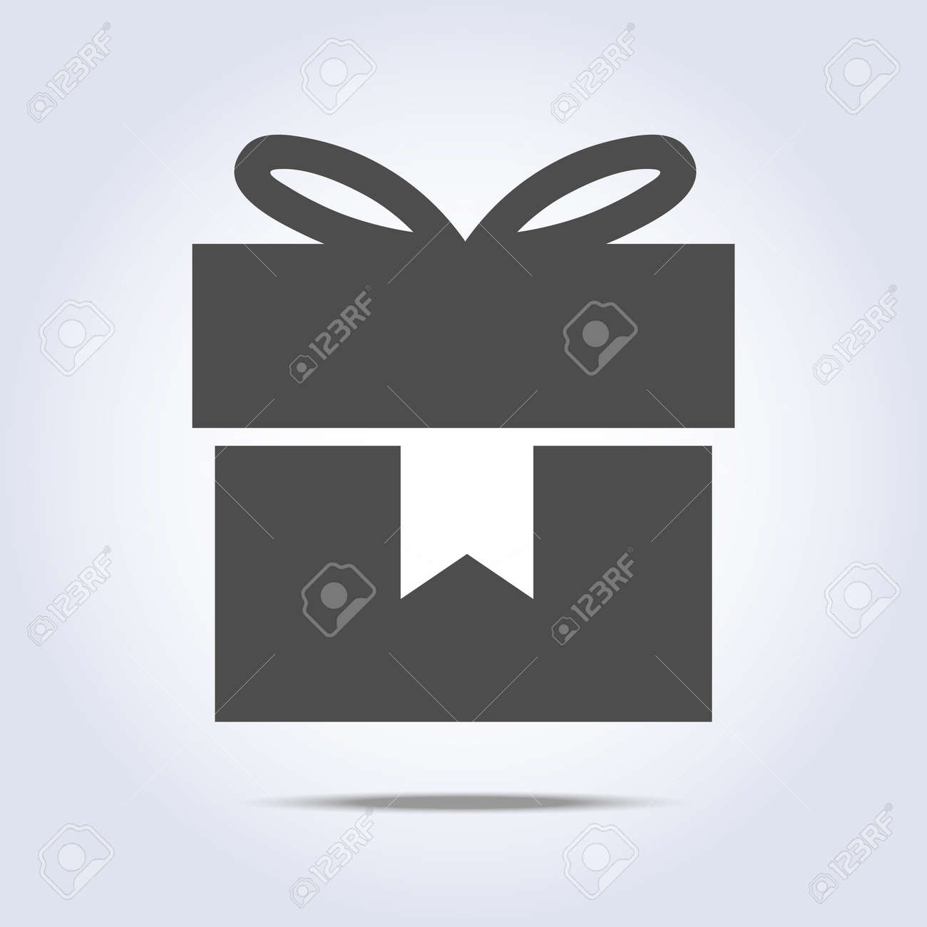 Gift icon. Stock Vector - 88177833