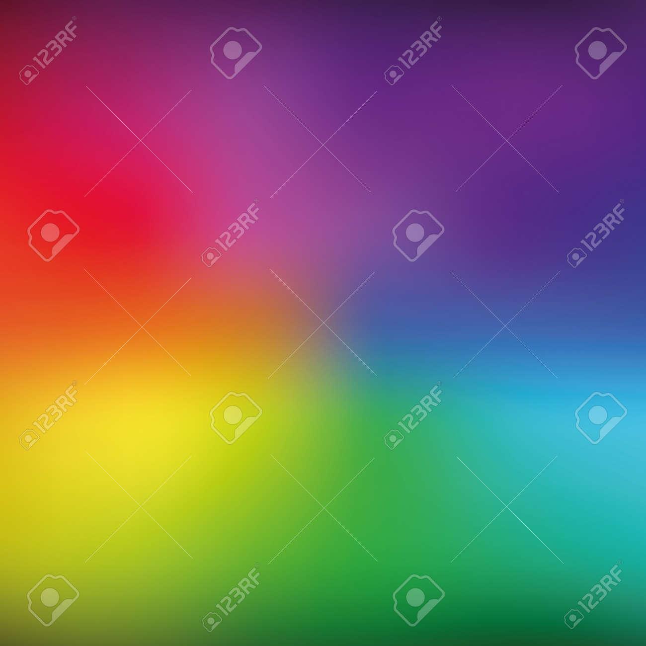 Bright rainbow mesh vector background. Eps 10 illustration Stock Vector - 88185319
