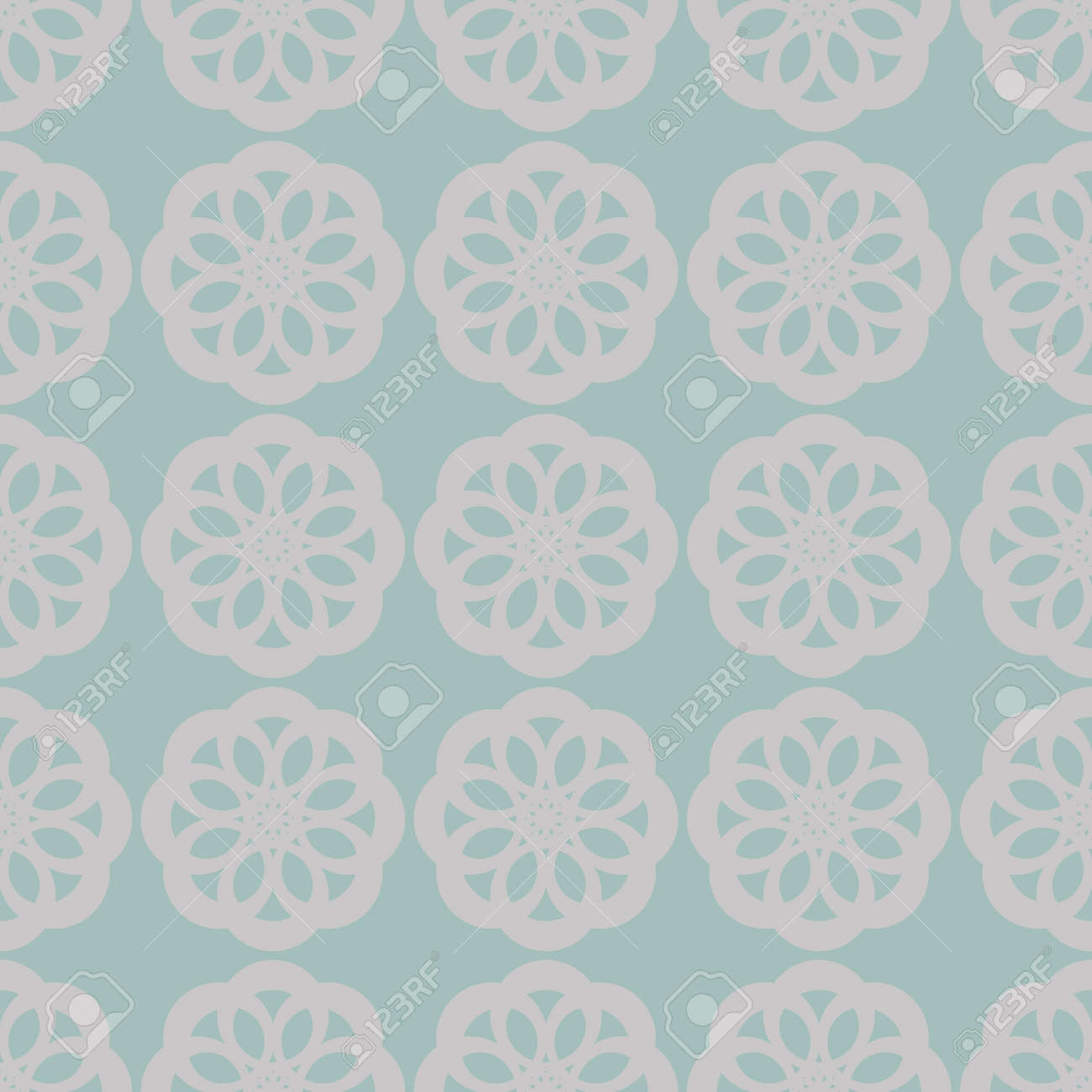 Seamless abstract vintage light gray pattern Stock Photo - 92435820