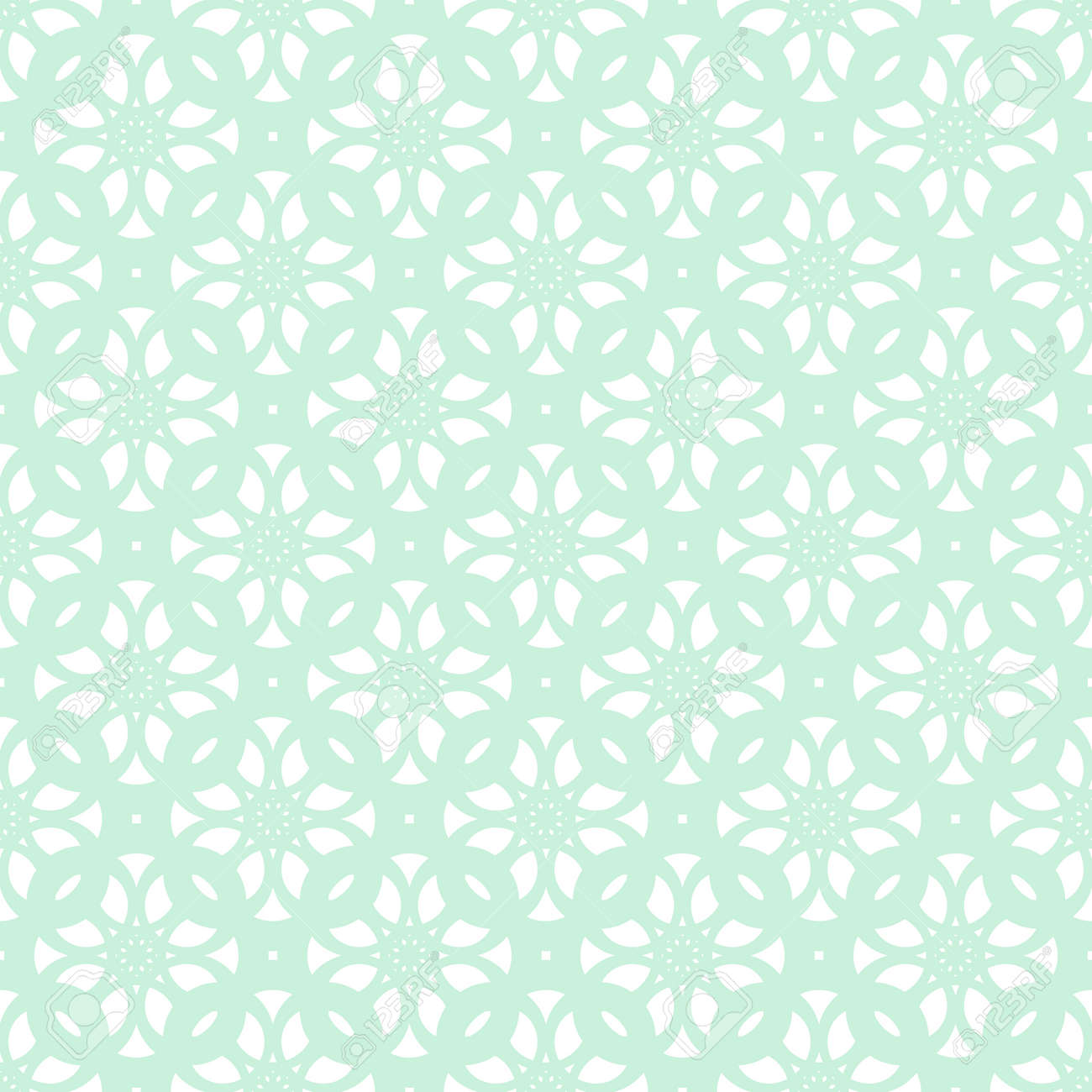 Abstract vintage light blue pattern. Stock Vector - 92294049