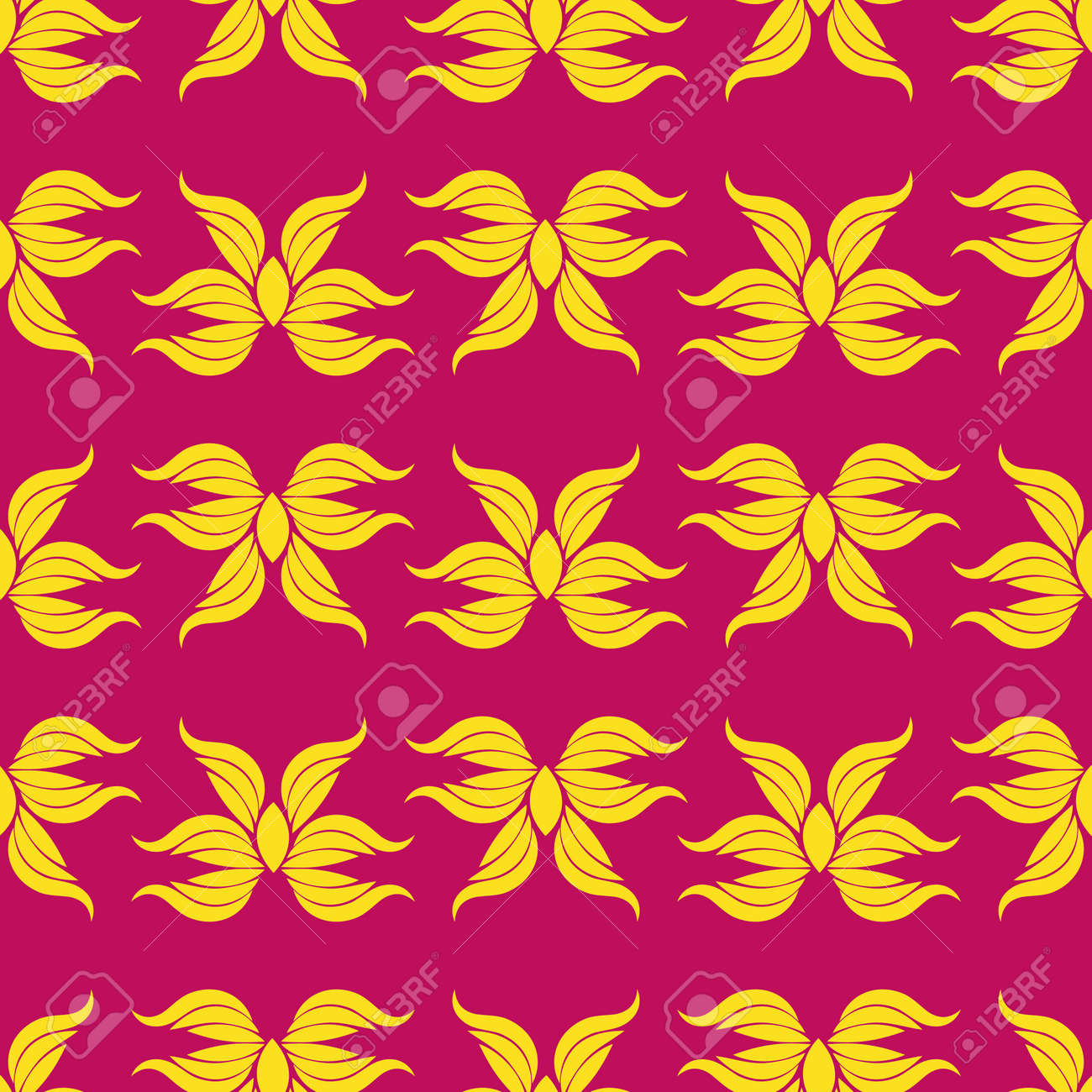 Abstract vintage bright pattern. Stock Vector - 92298620