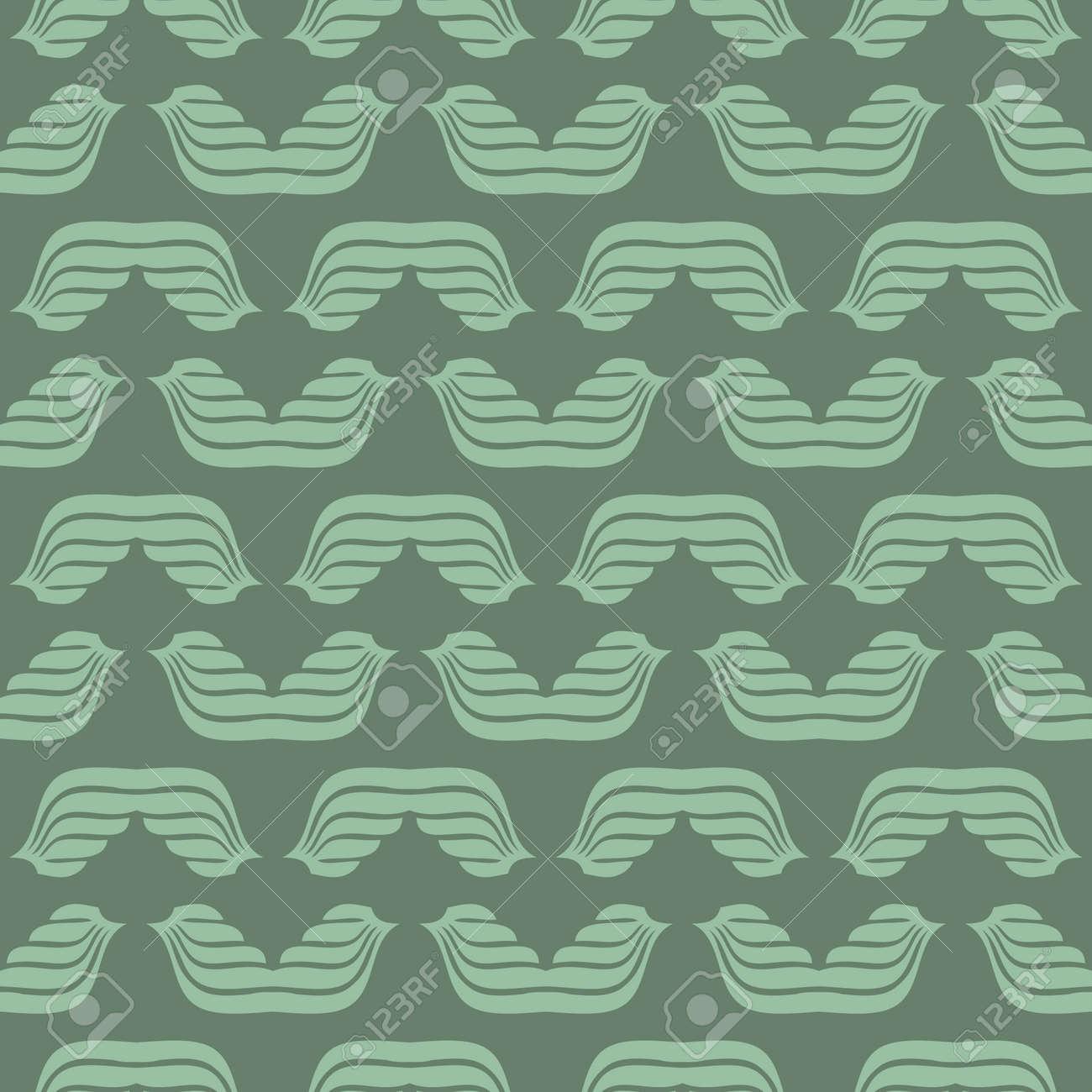 Seamless abstract vintage art pattern Stock Vector - 92727451