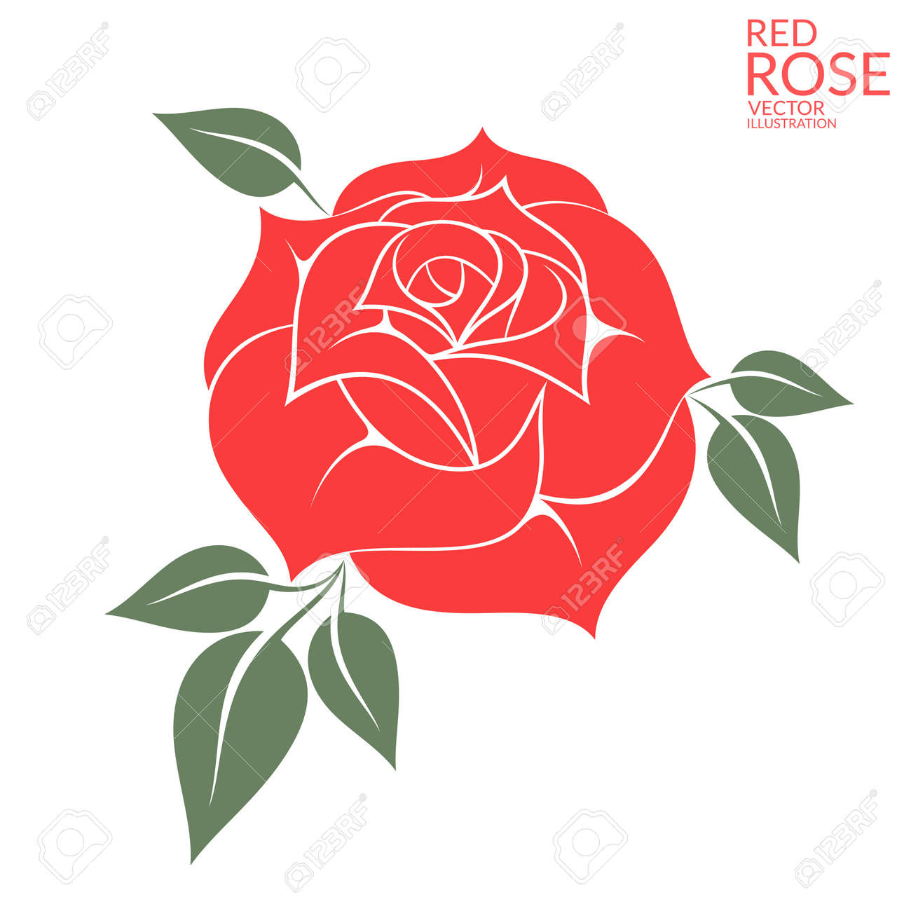 31 196 rose vector stock vector illustration and royalty free rose rh 123rf com rose vector file rose vector file