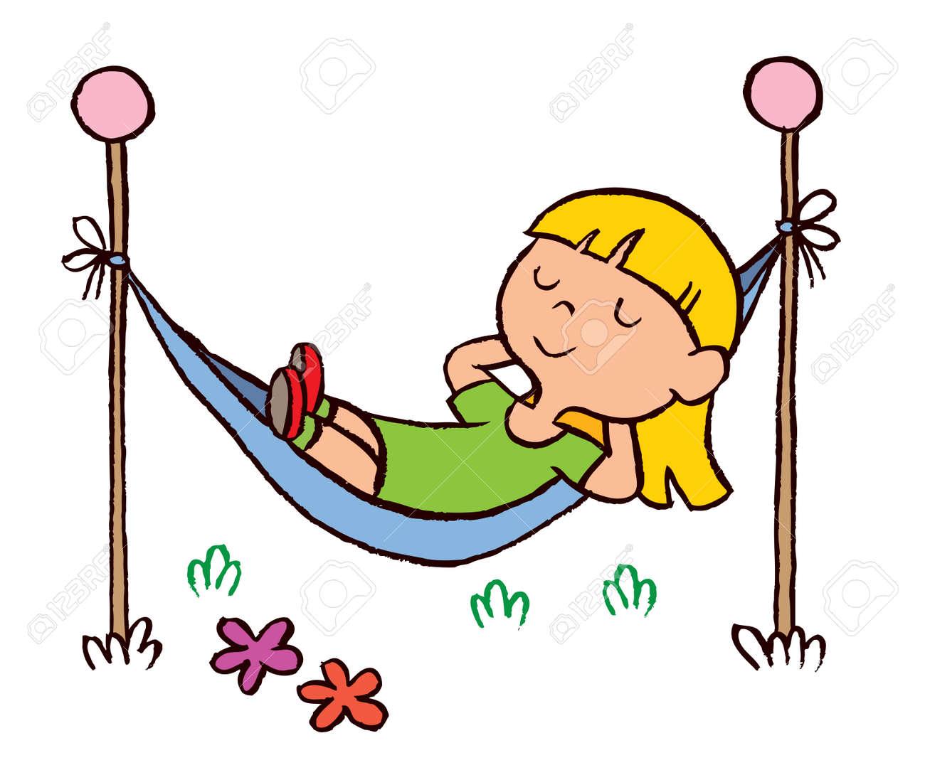 Kids Relax Clipart