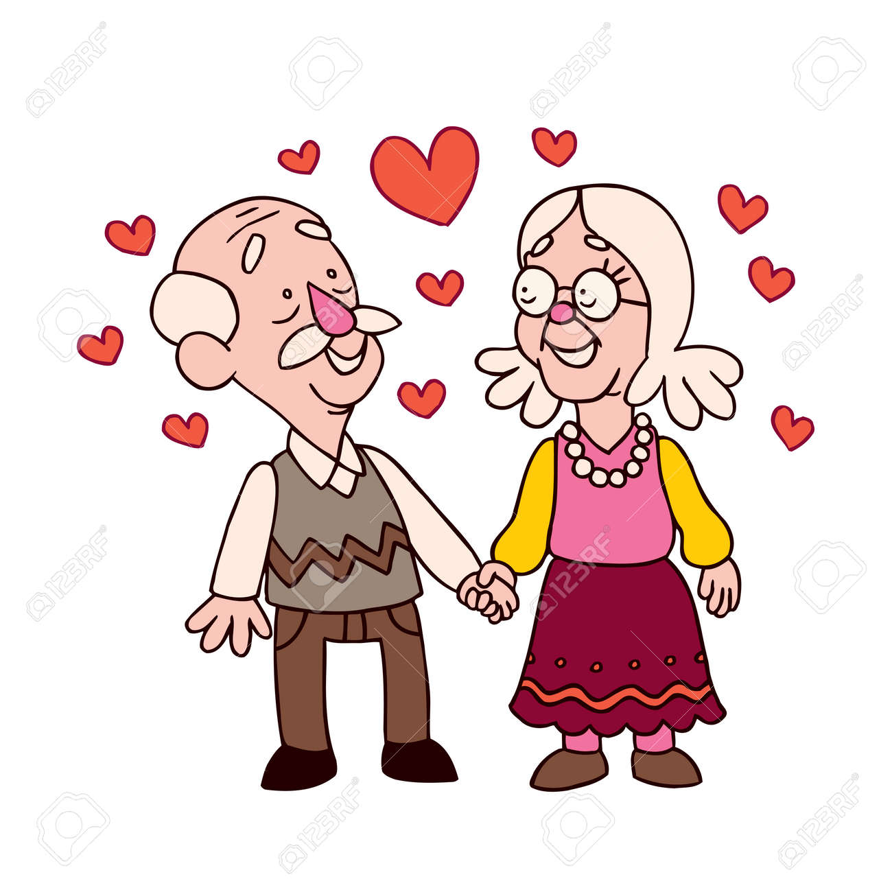 15 047 old couple cliparts stock vector and royalty free old couple rh 123rf com old couple clipart black and white old married couple clipart