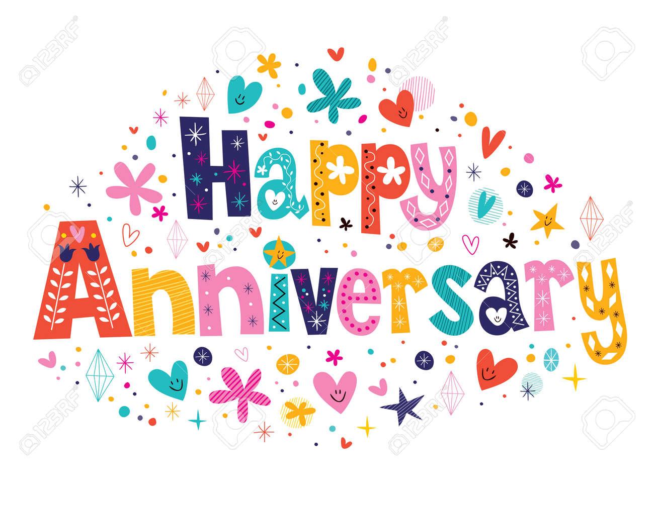 Happy Anniversary Royalty Free Cliparts Vectors And Stock