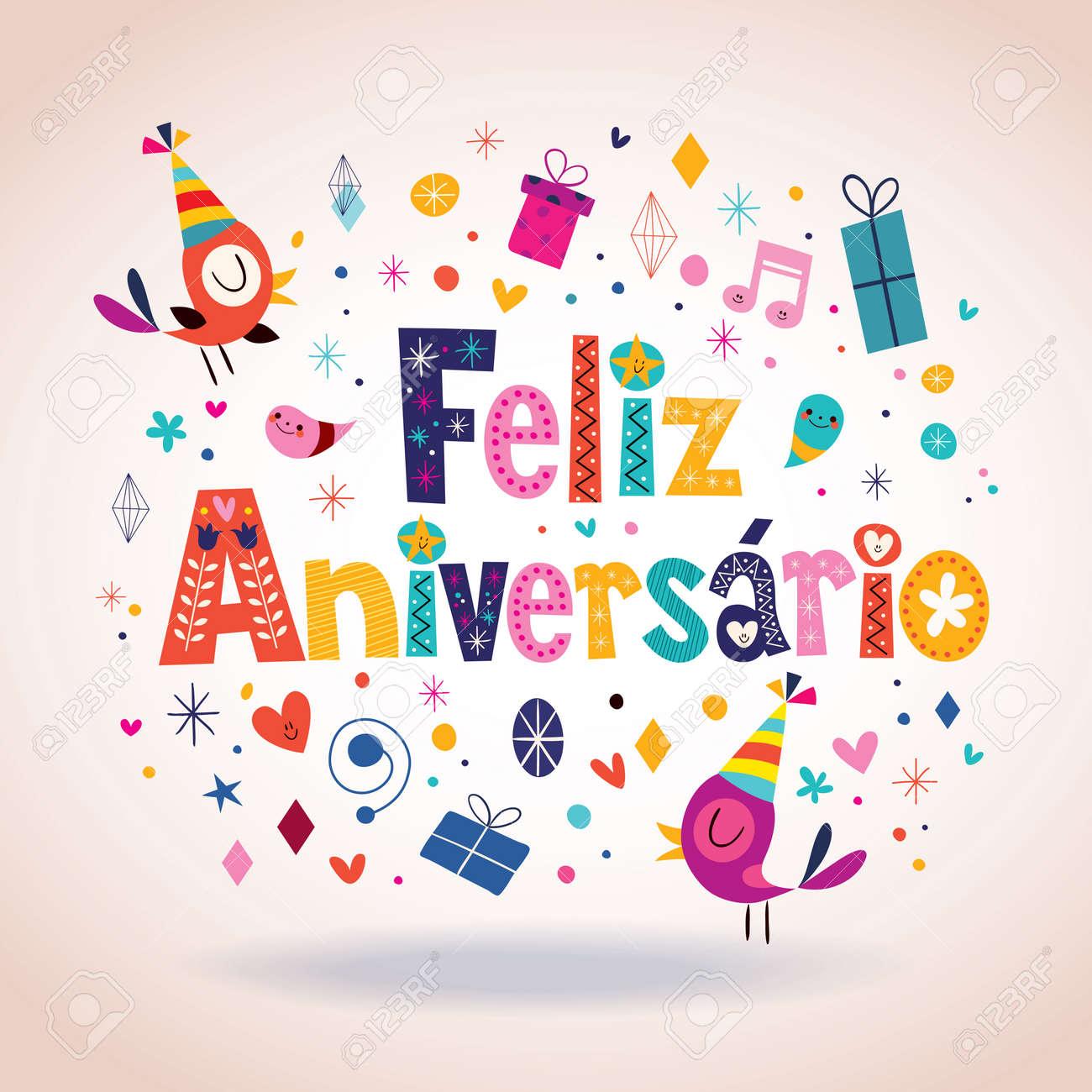 bon anniversaire in portugais