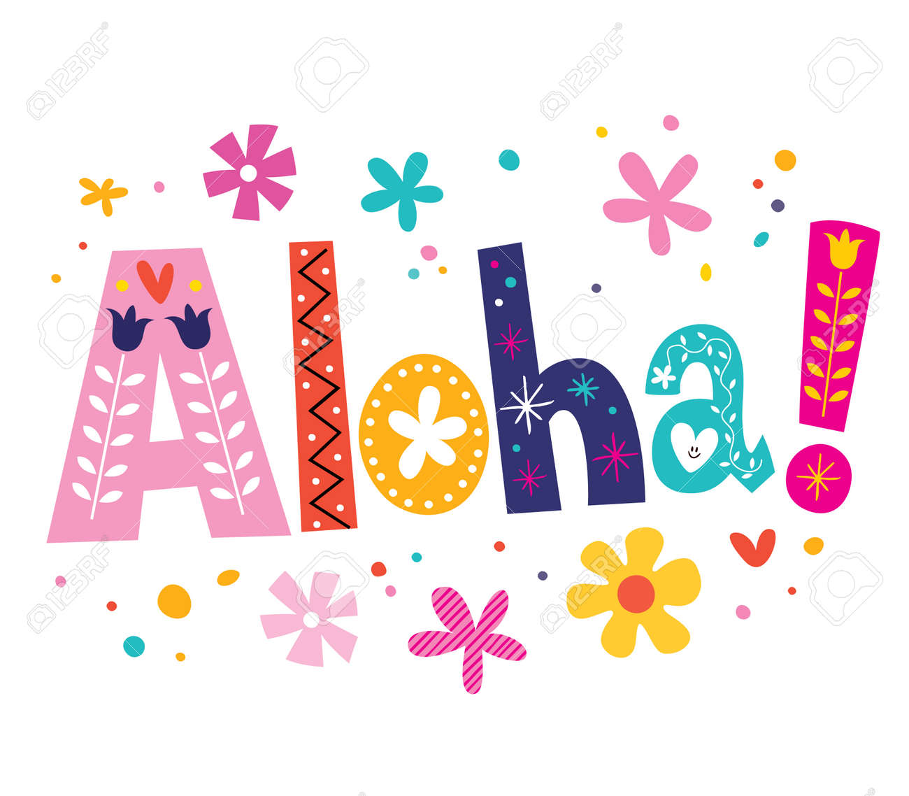 aloha vector lettering decorative type stock photo picture and rh 123rf com aloha clipart download aloha clipart free downloads