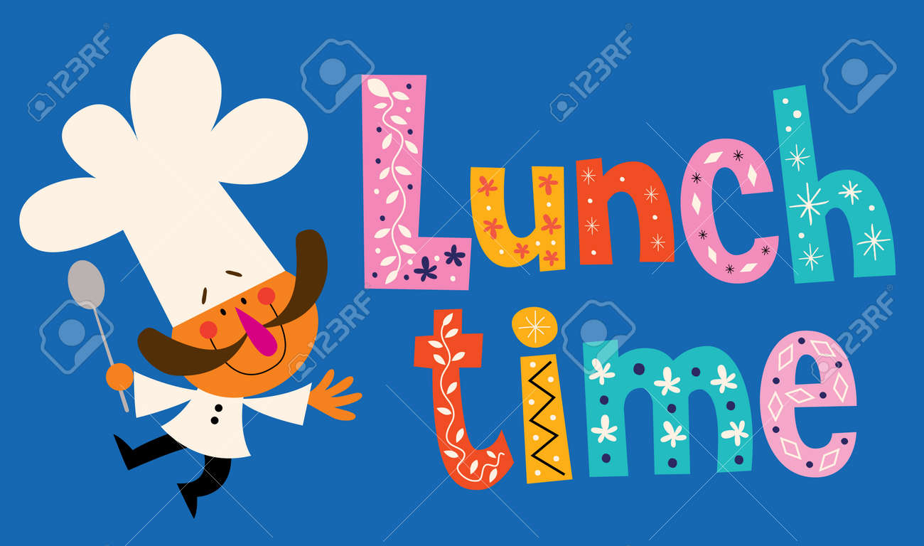Lunch Time Royalty Free Cliparts Vectors And Stock Illustration