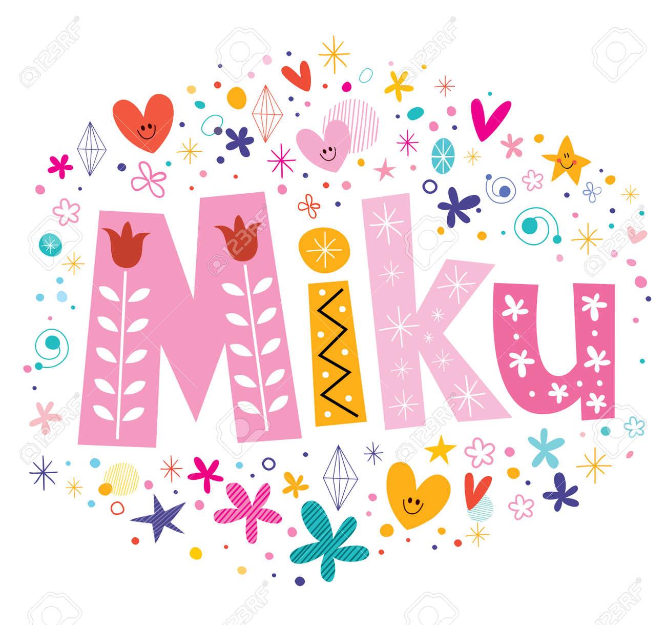 Miku - Japanese female given name