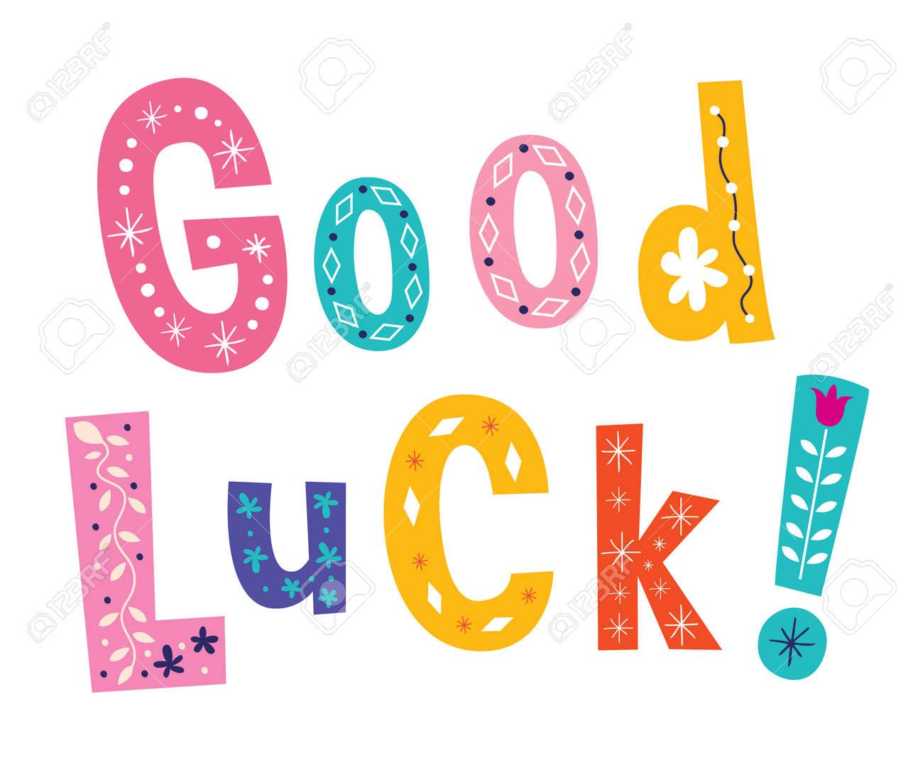 Resultado de imagen de good luck image