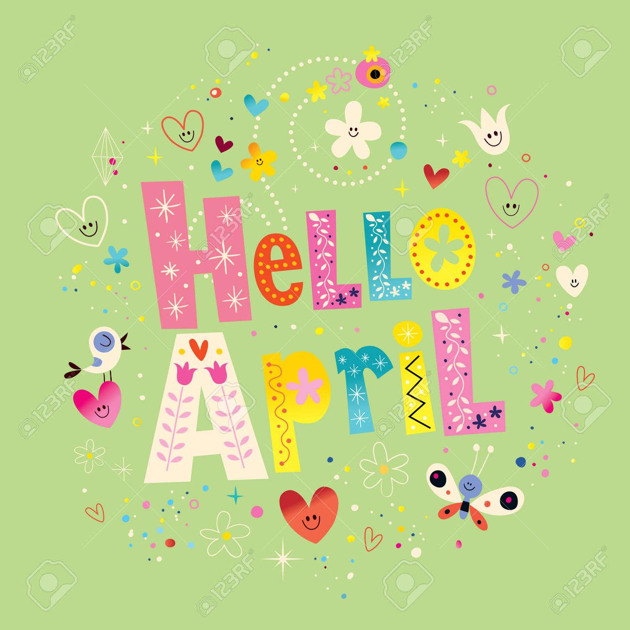 Hello April - 54765795
