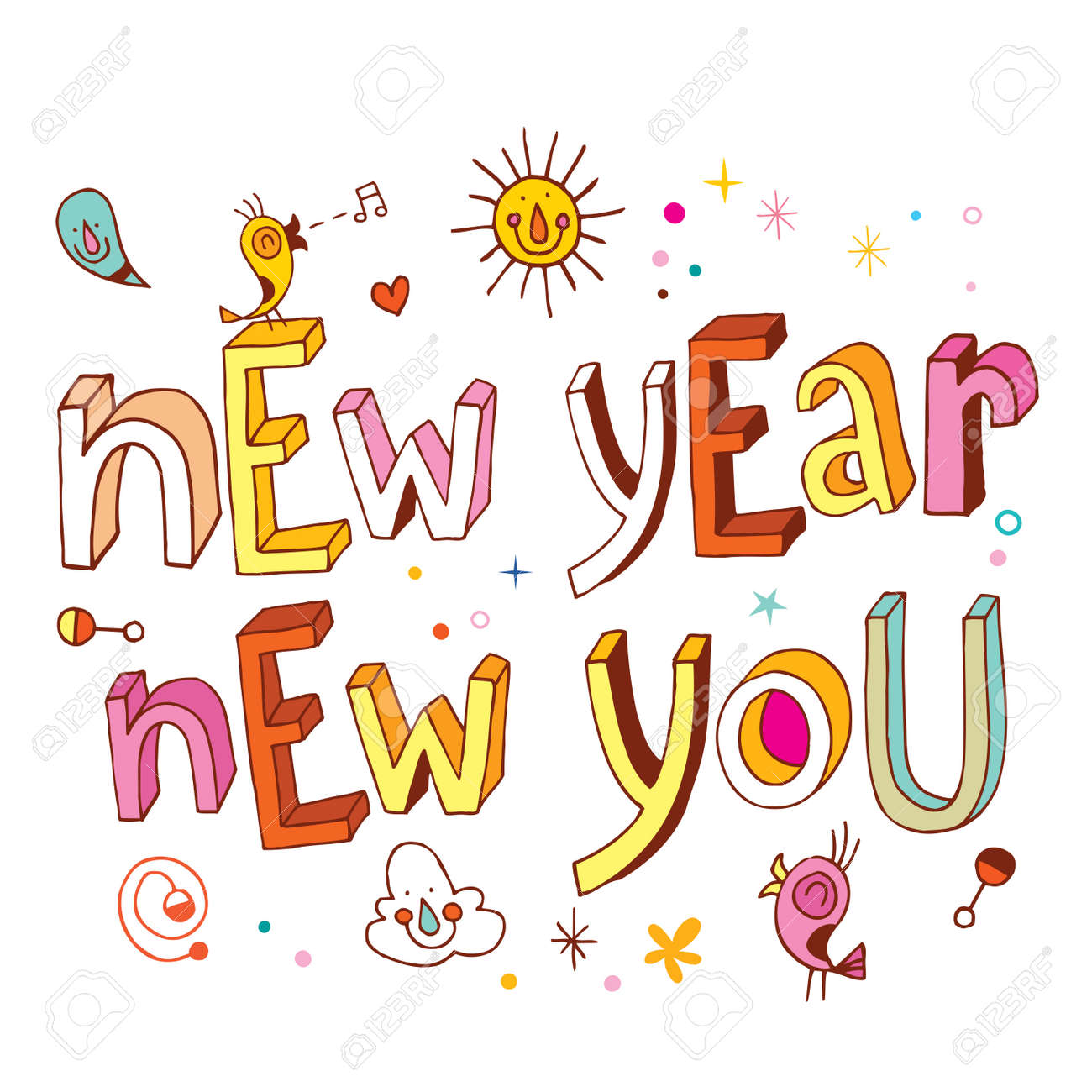 New Year new you - 54765899