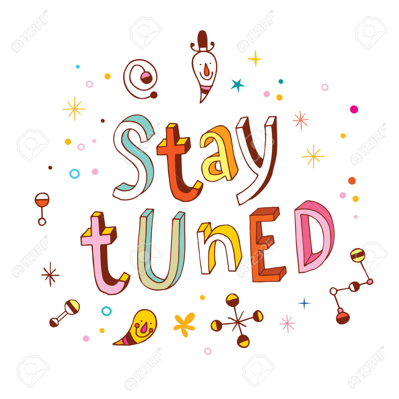 stay tuned royalty free cliparts, vectors, and stock illustration