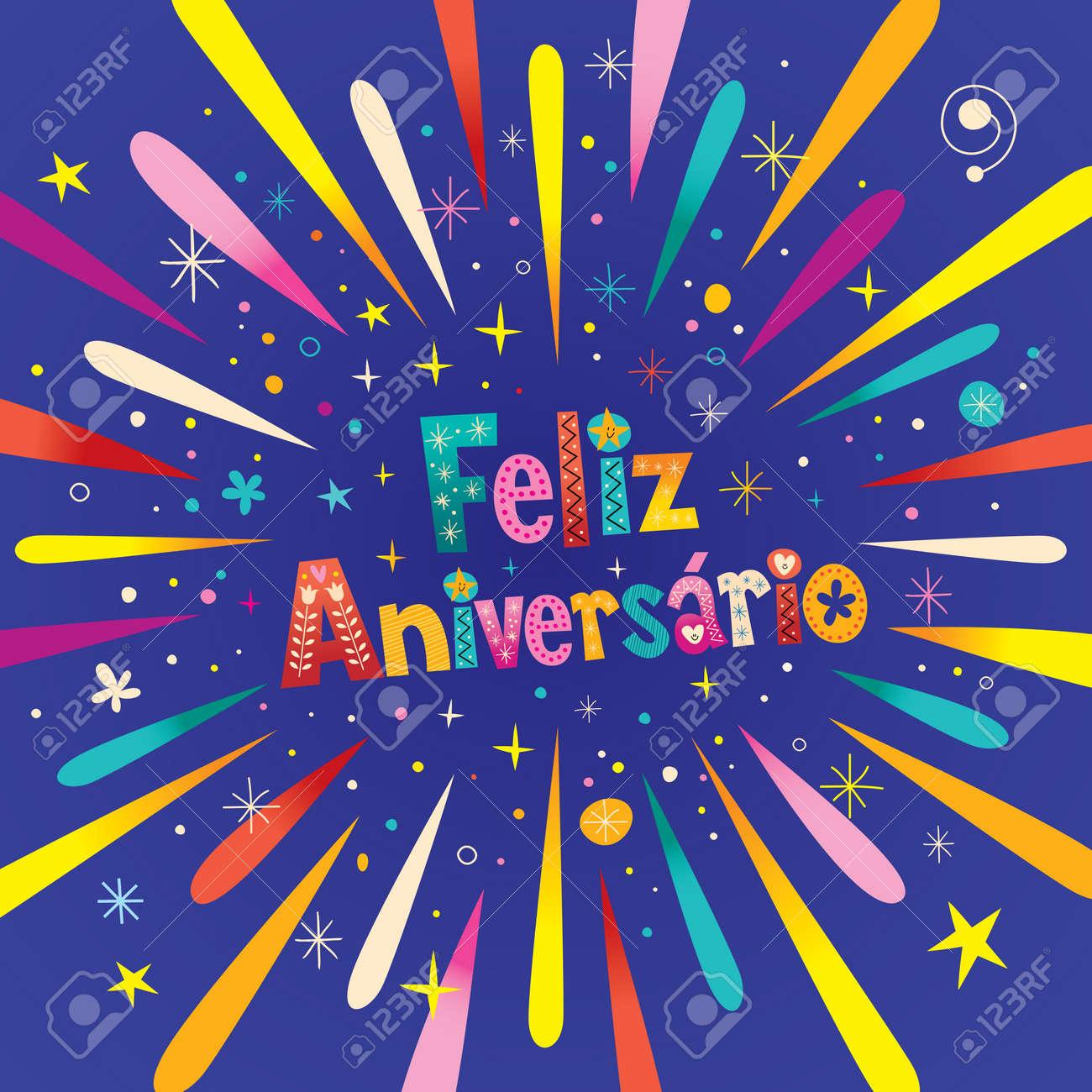 Carte d anniversaire en portugais