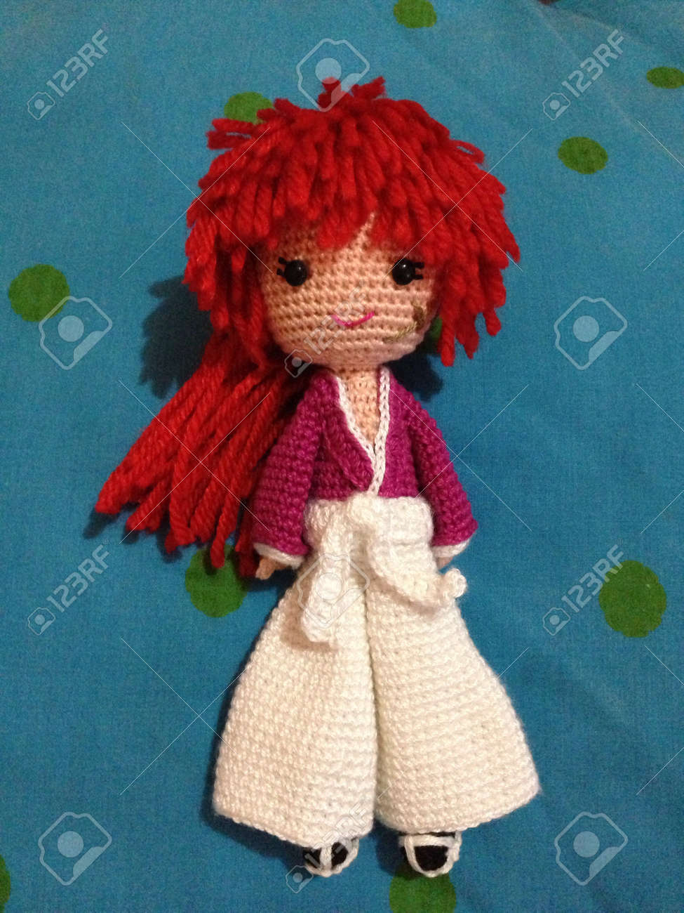 PDF Amigurumi Doll PATTERN, Crochet Little Doll Witch, DIY Doll ... | 1300x974