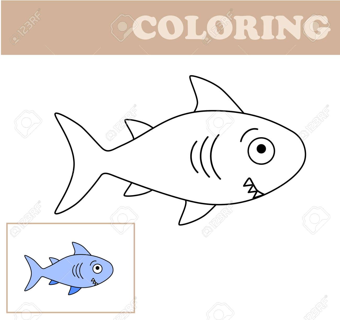 Shark Coloring Page | crayola.com | 1222x1300