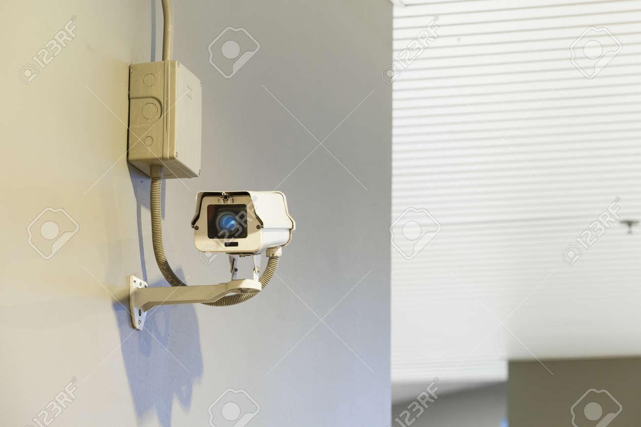 Sécurité cctv appareil photo le bureau le système la vigilance