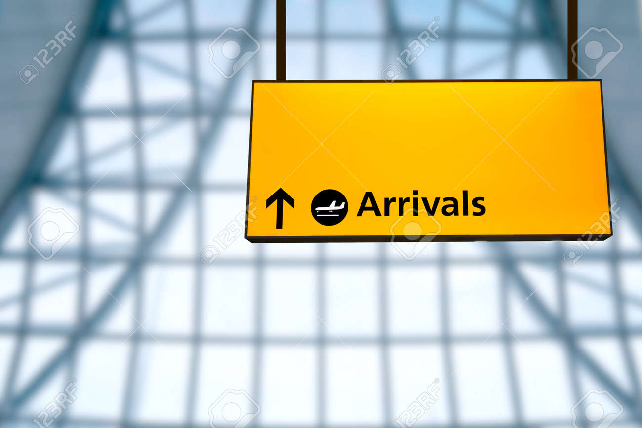 Check In Airport Departure Arrival Information Board Sign Stock Photo Picture And Royalty Free Image Image 37586768
