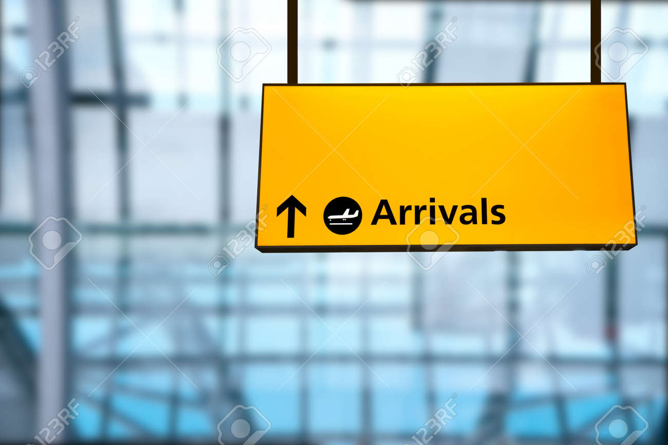 Check In Airport Departure Arrival Information Board Sign Stock Photo Picture And Royalty Free Image Image 38030689