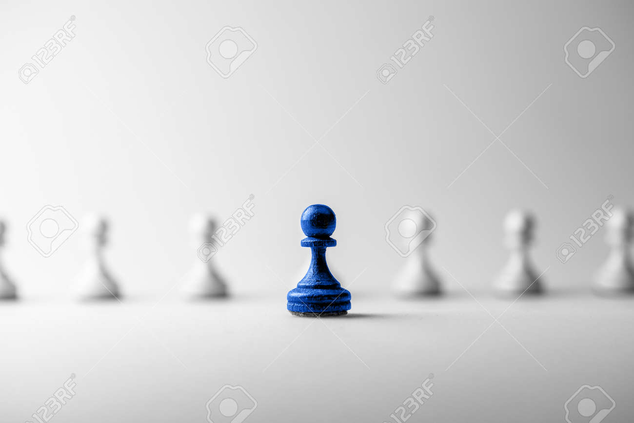 Chess business concept, leader & success - 43429334