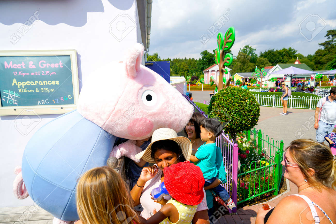 Southampton England 14 July 2018 The Peppa Pig World Is In