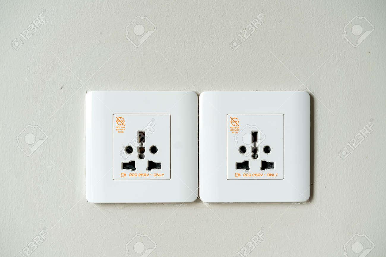 Universal electricity sockets & plug