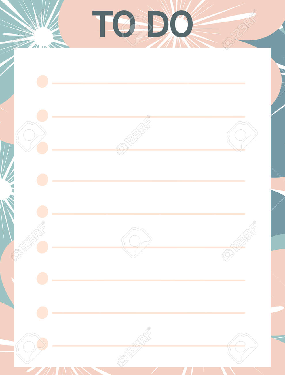 photo relating to Printable Lists identify lovely red blue vector printable towards do record with bouquets