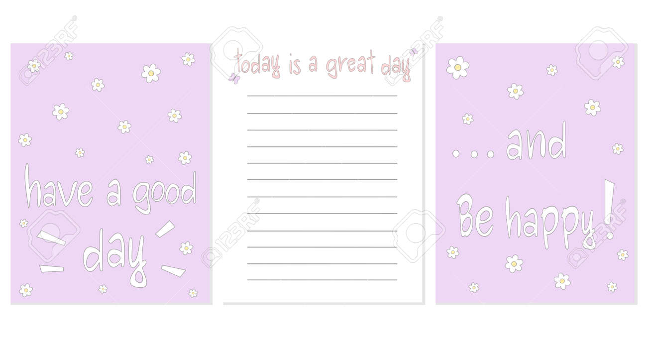 graphic regarding Printable Notebooks referred to as adorable printable vector template style and design for notebooks with certain..