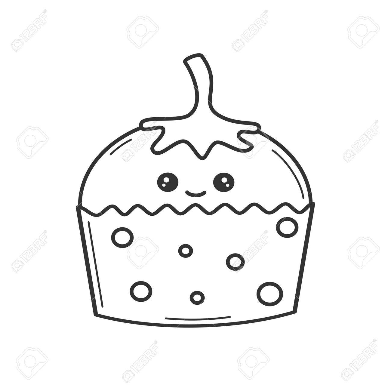 Black And White Cartoon Illustration Of Spooky Halloween Pumpkin.. Royalty  Free Cliparts, Vectors, And Stock Illustration. Image 22300354.