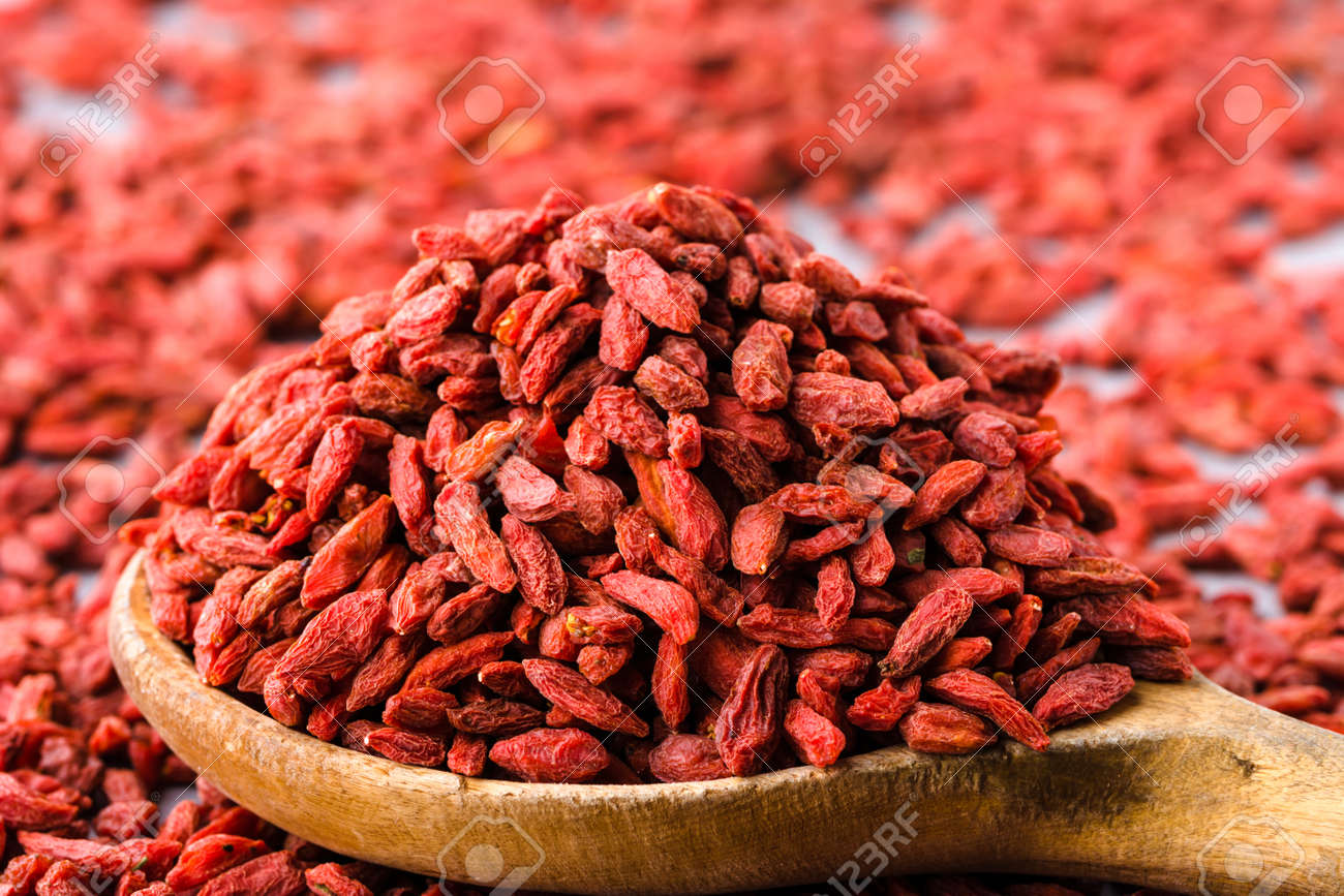 Dried Goji Berry Dry Fruit Of Red Berries Chinese Medicine