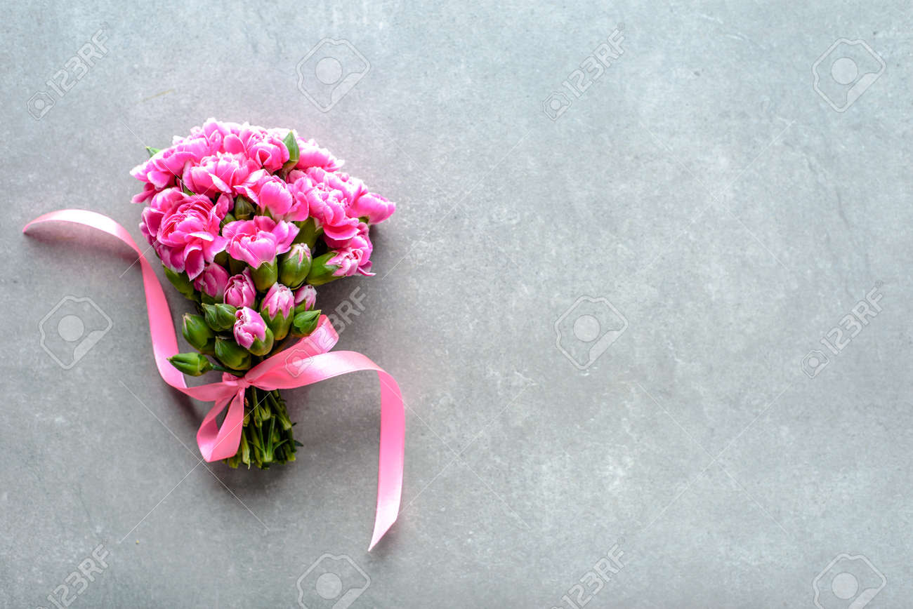 Spring flowers bouquet for wedding gift or mothers day card Stock Photo - 99403769 & Spring Flowers Bouquet For Wedding Gift Or Mothers Day Card Stock ...