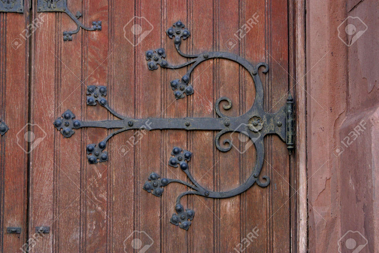 Antique Door Hardware antique door hardware stock photo, picture and royalty free image