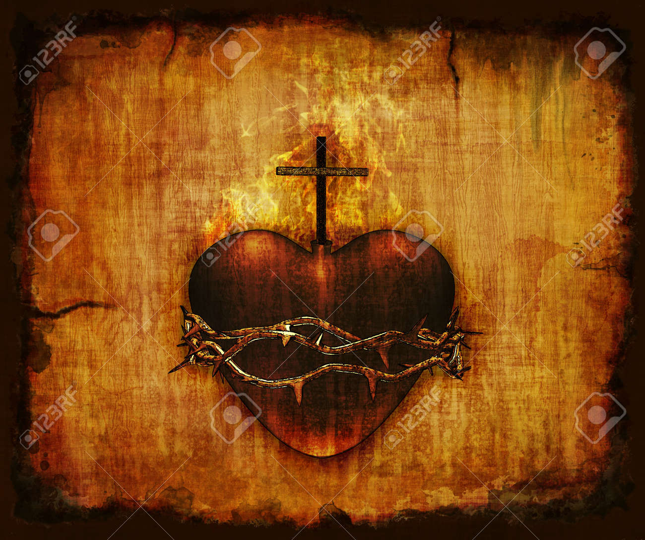 sacred heart of jesus stock photos u0026 pictures royalty free sacred